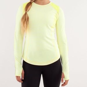 Lululemon Run: Ice Queen Long Sleeve Shirt